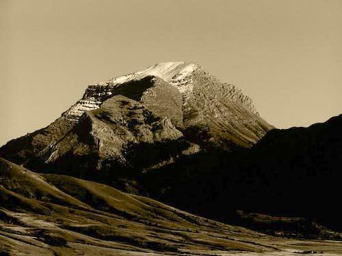 Sphinx Mountain, September...