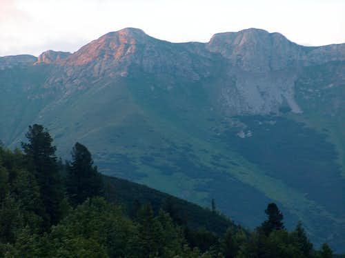 Evening on the Tatras Belianske