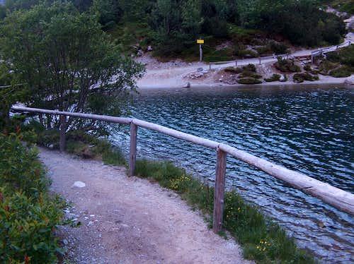 Shore of Zelene Pleso