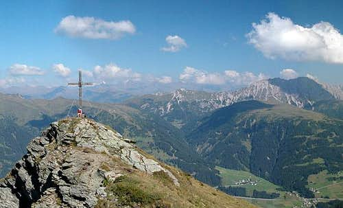 The Spitzköfele summit cross...