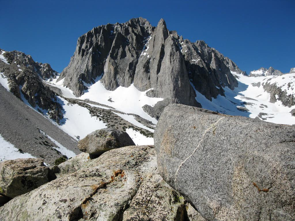 Temple Crag above Second Lake