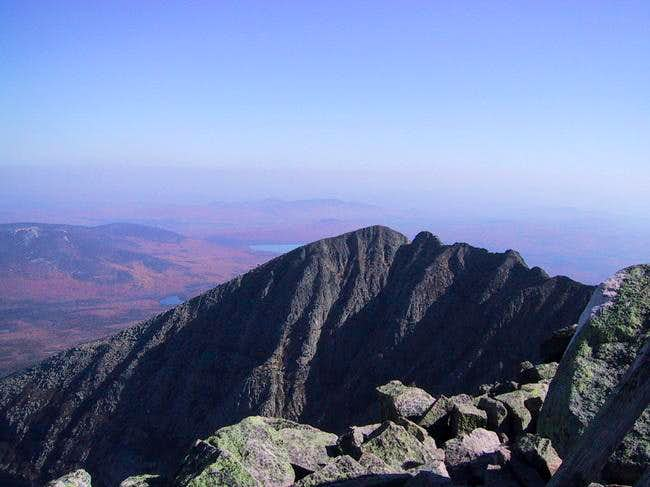 Pamola & Chimney Peaks on Katahdin