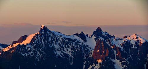 Gunnshy & Gunn Peaks