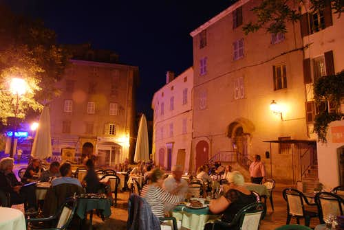 San Florent by night