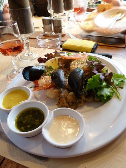 Gastronomic delight at San Florent
