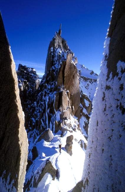 Aiguille du Midi from the...