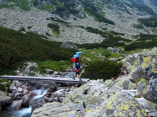 Sherpa in Veľká Studená Dolina