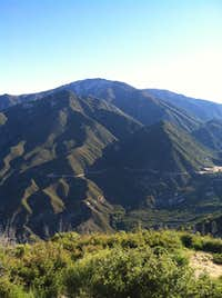 View of Mount Baldy