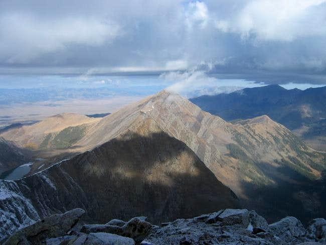 Mount Owen from Unnamed Peak...