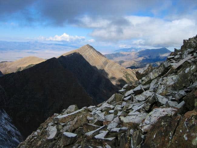 Mount Owen from Peak 13,490...