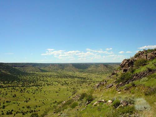 View from Black Mesa trail