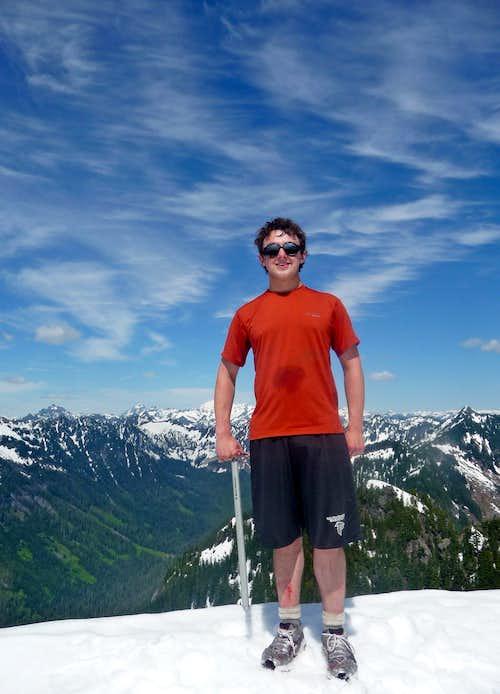 Finally on the Summit of Mount Zekes