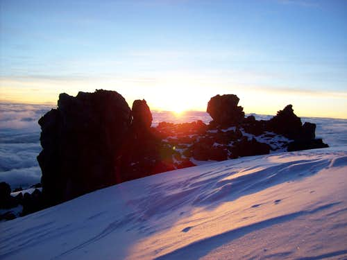 Sunrise Elbrus North Route