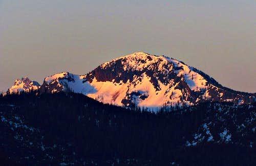 Round Mountain Alpenglow