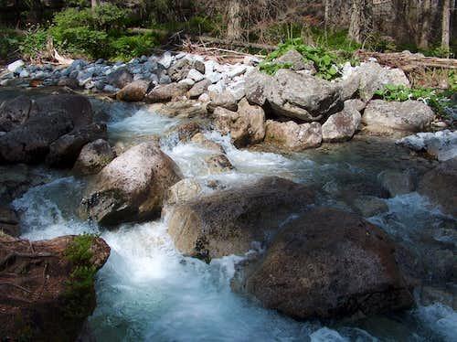 Stream in Veľká Studená Dolina