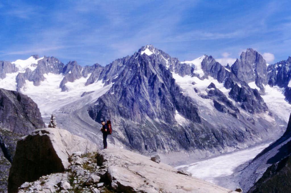 Getting Envers des Aiguilles Hut