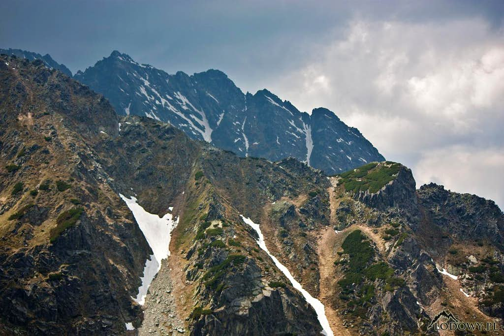 Two ridges