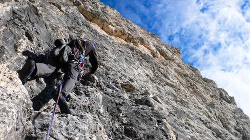 Pete on pitch 5