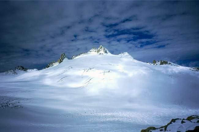 Aiguille du Tour from the...