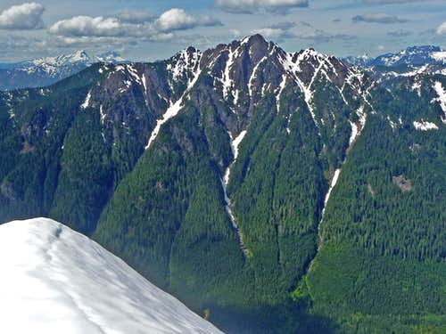 Mount Stickney\'s South Face