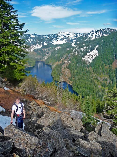 Mark and Lake Isabel
