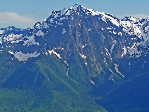 Mount Index\'s North Face