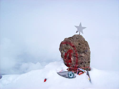 Elbrus Summit Rock