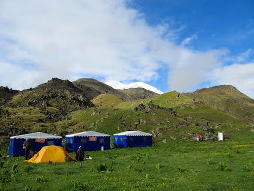 Elbrus North Base Camp