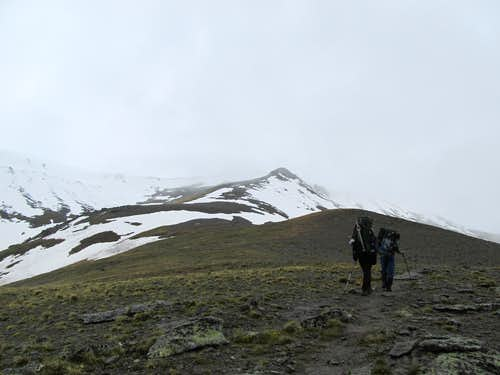 Elbrus North Hike to High Camp