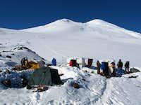 Elbrus North High Camp
