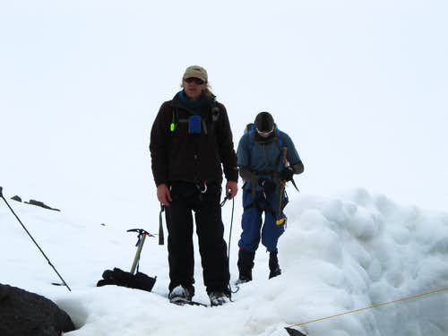 Elbrus Return from Summit