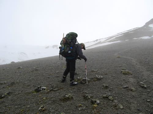 Elbrus return to base camp
