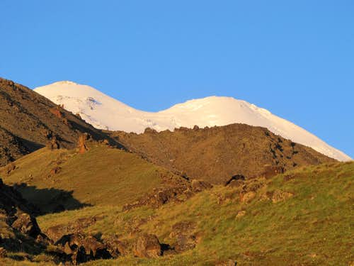 Elbrus from North Base Camp