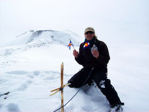 Elbrus Summit Shot
