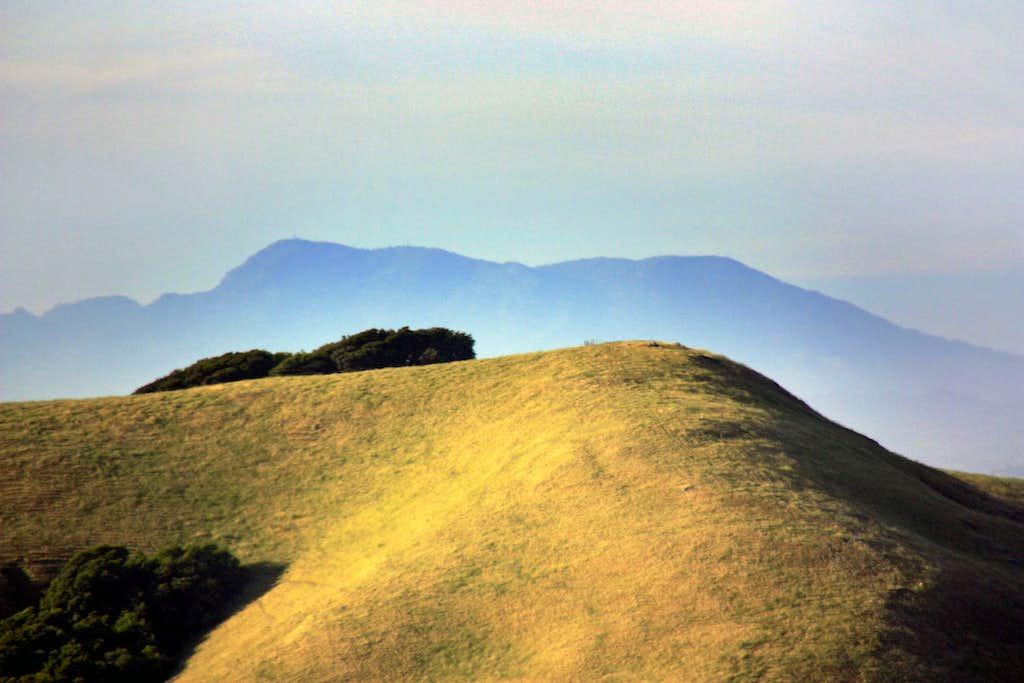 Mt. Saint Helena over Antonio Mtn.