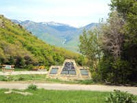 Monument At Trailhead