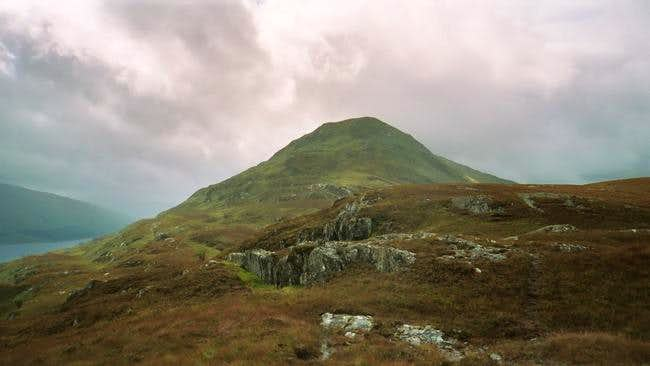 The nose of Meall Cian Dearg