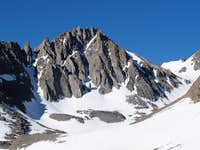 Gendarme Peak NE side