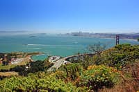 SF Bay from Hawk Hill