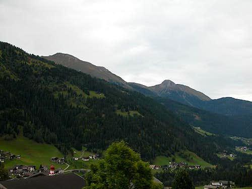 Riebenkofel (2386m) and...