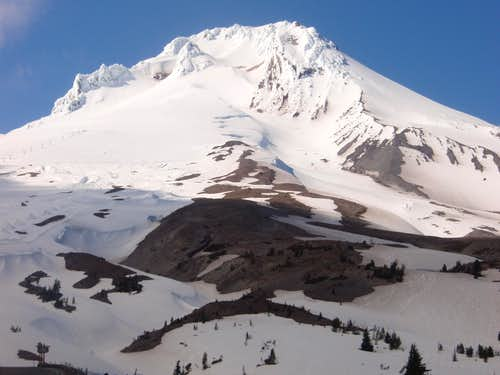 Southside of Mount Hood