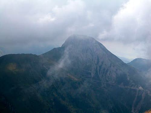 Lumkofel (2286m) see from the...