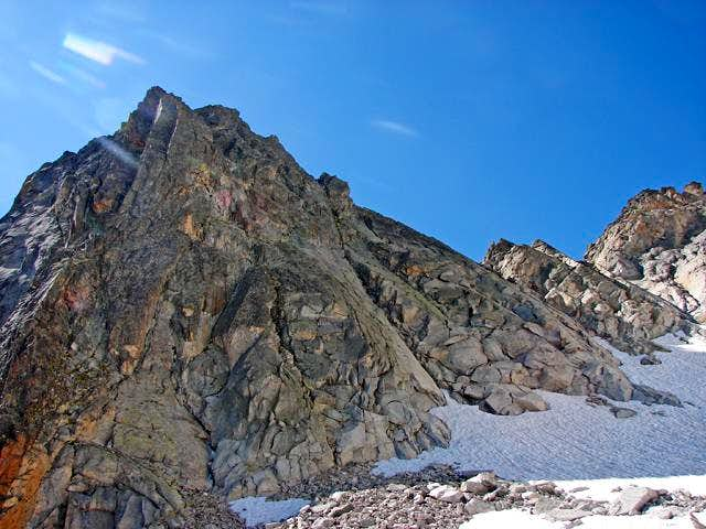 Lac d\'Aubert-Chimney of glacier