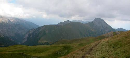 Lumkofel (2286m), seen from...