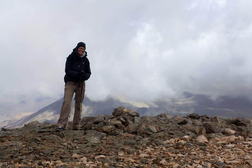Summit of Laguna Blanca