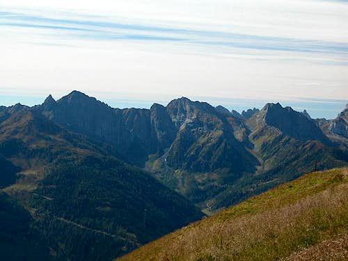 Summit view Lumkofel:...
