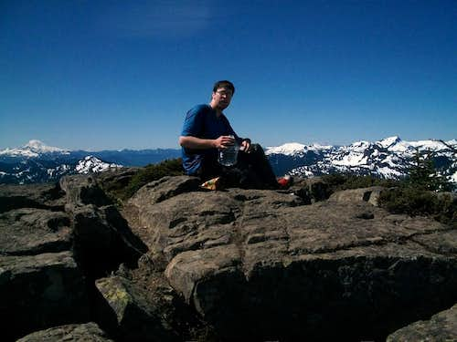 Jordan on the summit