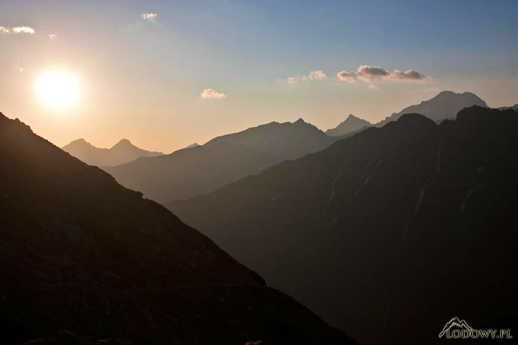 The last May sunrise in Tatras