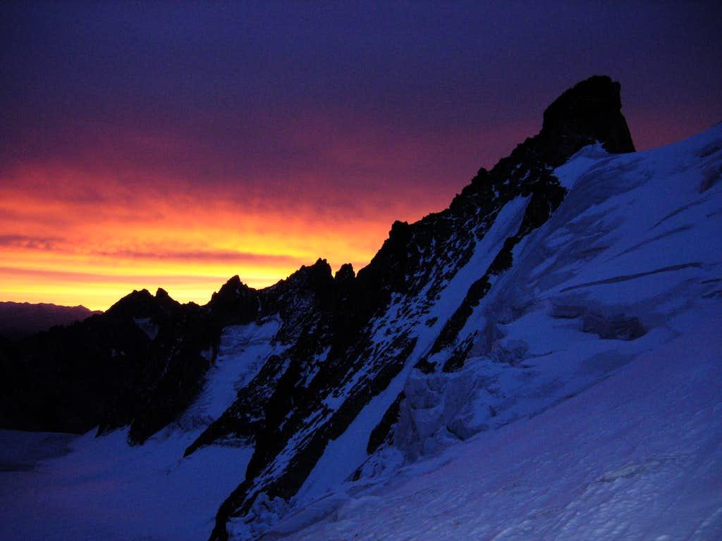 Daybreak over Barre des Ecrins