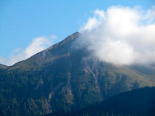 Lumkofel (2286m) from the...